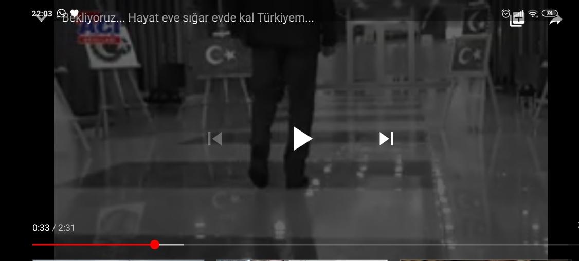 Bekliyoruz… Hayat Eve Sığar Türkiye…
